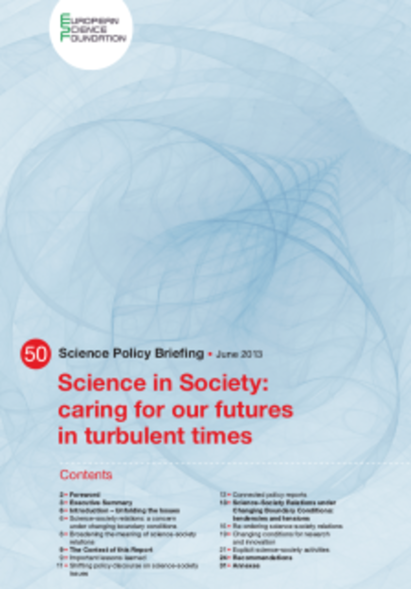 Cover ESF Report